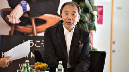 Писателят Харуки Мураками