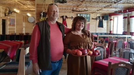 Един от туристическите обекти в Осогово, с домакини Диана и Иван Михайлови.