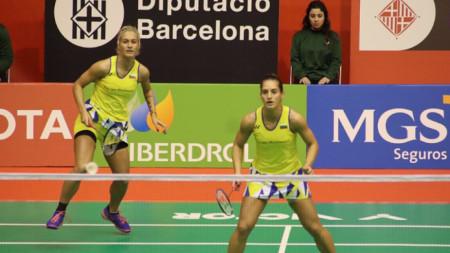 Габриела (вляво) и Стефани Стоеви ще играят срещу водачките в световната ранглиста.