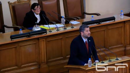 Hristo Ivanov, leader of Democratic Bulgaria