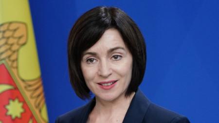 Премиерът на Молдова Мая Санду