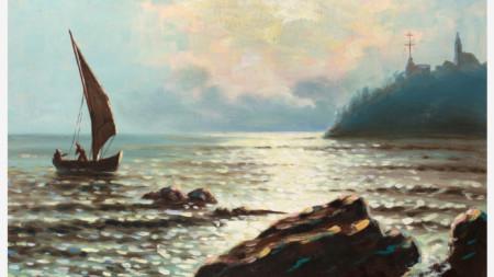 Григорий Лебский, Кримският залив, към 1958