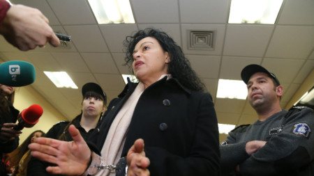Специализираният съд гледа мярка Евгения Банева.