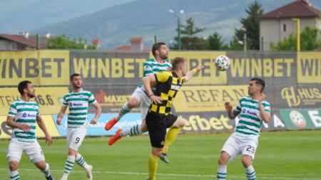 Атанас Илиев с гол №15 за сезона в Първа лига