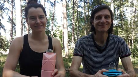 Радина Попова и Петър Захаринов