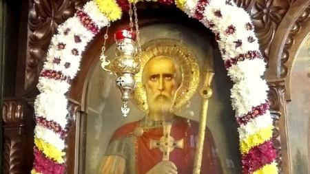 Иконата на Свети Мина от едноименната църква в Пловдив