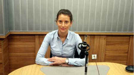 "Ванина Хаджиева в студиото на програма ""Христо Ботев"""