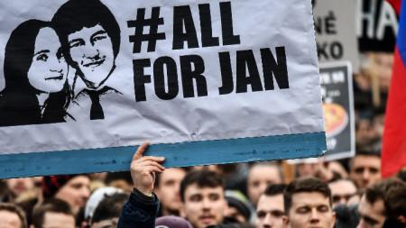 Убийството на Ян Куциак и годеницата му предизвика вълна от протести в Словакия.