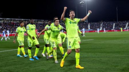 Хетафе излезе на пето място след 3:0 над Леганес