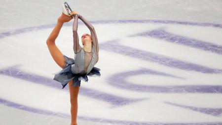 Александра Фейгин (кратка програма) на световното първенство в Япония