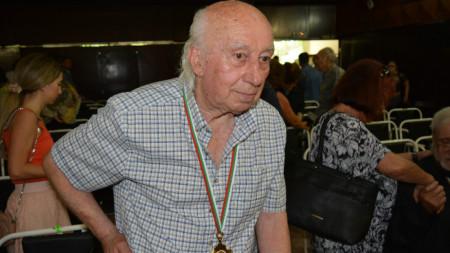 Димитър Ганчев, автор на статуята на Диана, която бе възстановена