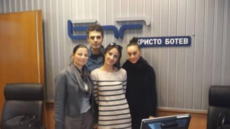 Леда Паташева, Велислав Павлов, Милена Лекова и Юлиана Сайска