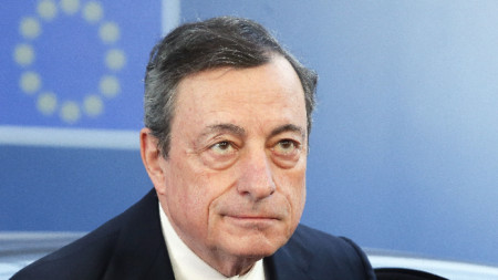 Марио Драги, председател на ЕЦБ