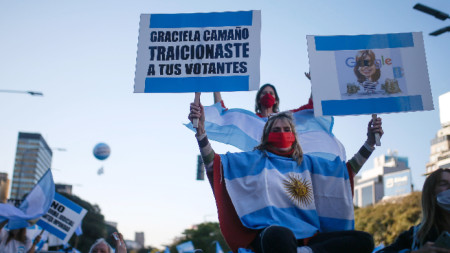 Буенос Айрес, 17 август 2020 г.