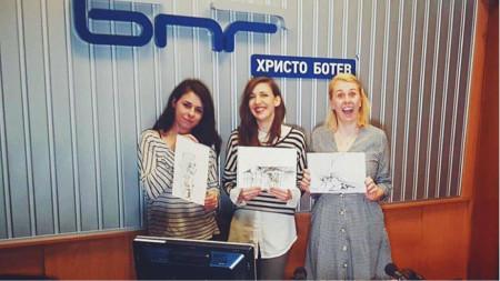 Силвия Аспарухова, Калина Станева и Зорница Аспарухова (отляво надясно)