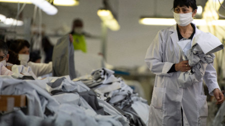 Производство на защитни облекла, Враца - 18 март 2020 г.