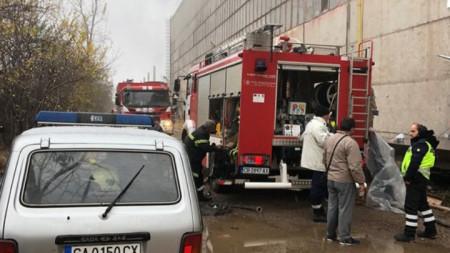 Пожарникари в Кремиковци