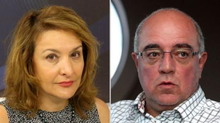 Антоанета Христова и Кънчо Стойчев
