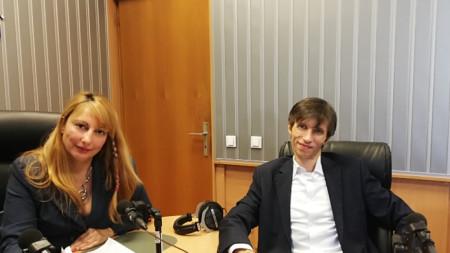 Мария Мира Христова и Григор Сарийски