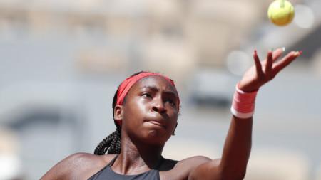 17-годишната Коко Гоф е най-младата четвъртфиналистка в Париж.