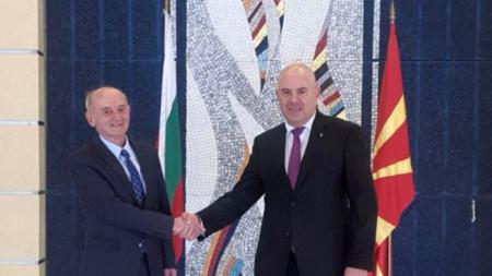 Главният прокурор Иван Гешев разговаря с главния прокурор на Република Северна Македония Любомир Йовески, по чиято покана е на официално посещение в Скопие.