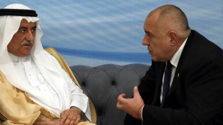 Борисов разговаря с министъра на външните работи на Саудитска Арабия