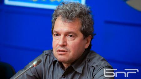 Toshko Yordanov, vicepresidente del partido Hay tal Nación