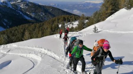Група с планински водач