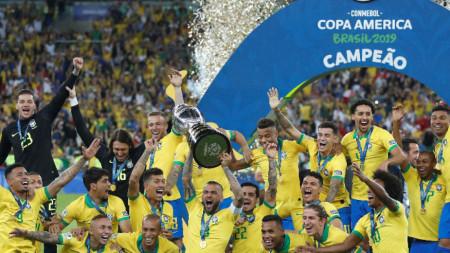 Бразилия стана шампион на Южна Америка за 9-ти път в историята си