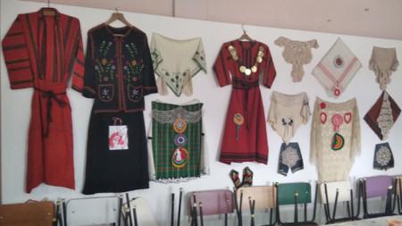 Битова стая в читалището в село Черногорово