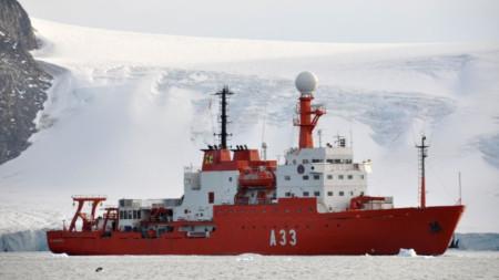 Buque español de investigación oceanográfica Hespérides