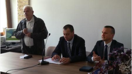 Христо Дунгьов, Бисер Михайлов, Радослав Ревански