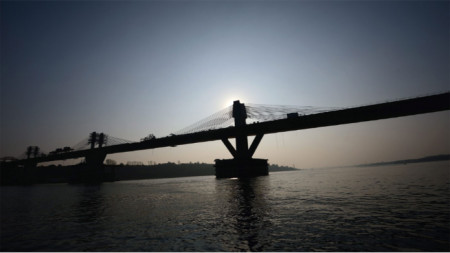 Дунав мост-2 между Видин и Калафат