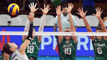 Женският ни национален отбор по волейбол записа историческа първа победа в Лигата на нациите, надигравайки Южна Корея