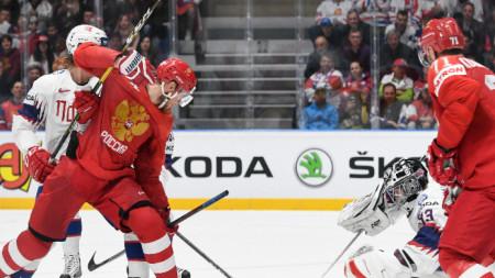 Русия победи Норвегия с 5:2