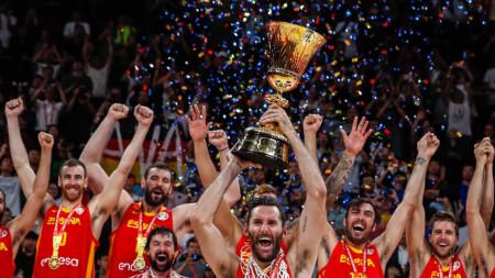Испания е новият световен шампион по баскетбол