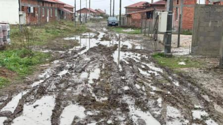 След дъждовете в с. Калековец