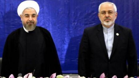 Хасан Рохани и Мохамад Джавад Зариф