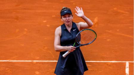 Симона Халеп се отказа в Рим.