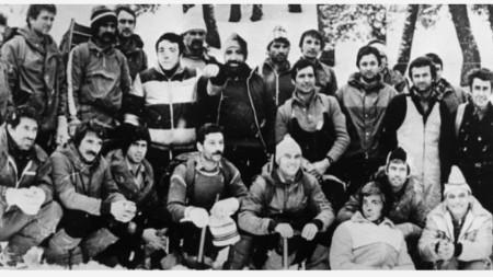 Участниците в експедиция