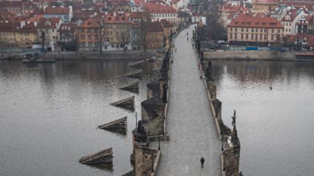 Прага, 20 март 2020 г.