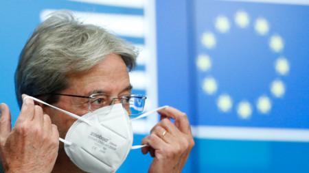 Еврокомисарят Паоло Джентилони