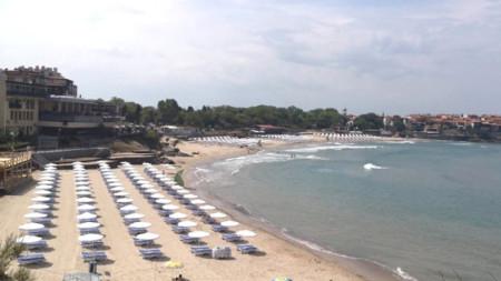 Созопол-Централен е сред трите нови плажа, които развяват престижното екоотличие този сезон