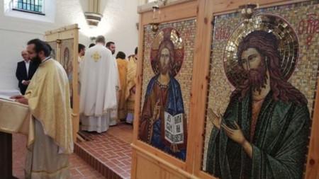 Българският православен храм в Хамбург
