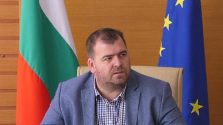 Заместник-министърът на земеделието, храните и горите Явор Гечев
