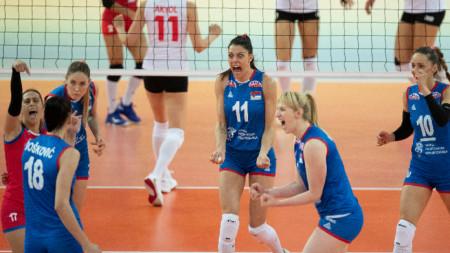 Сърбия - европейски шампиоин по волейбол при жените
