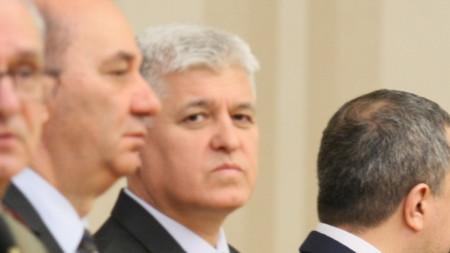 Главният секретар на президента Димитър Стоянов (в средата)
