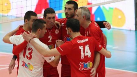 Воалейболистите на ЦСКА триумфираха с чиста победа за купата.