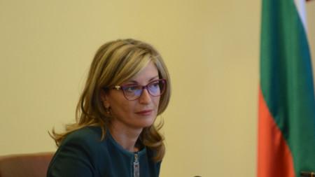 Глава МИД Болгарии Екатерина Захариева