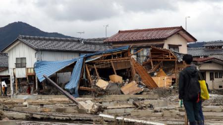 Тайфунът Хагибис причини смъртта на 78 души